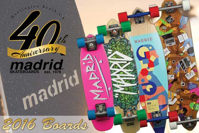 History of Madrid Skateboard Brand