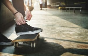 Lace Skate Shoes