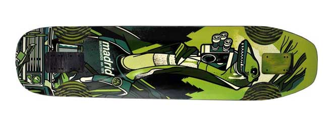Madrid Nessie downhill skateboard