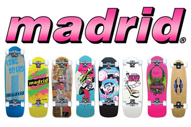 Madrid Skateboard