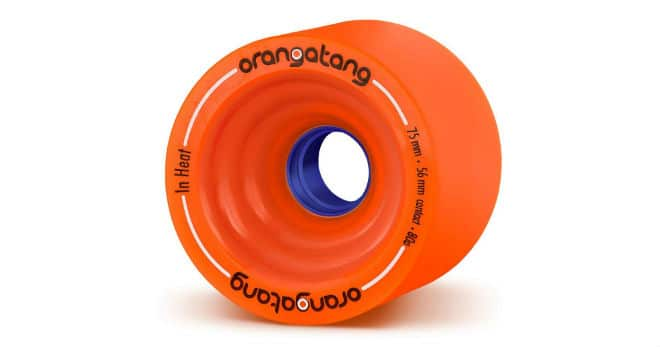 Orangatang In Heat Skateboard Wheels