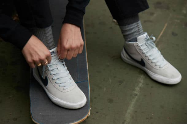 A comfortable skateboard shoes
