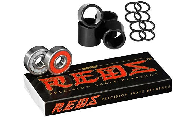 Bones Bearings Reds Longboard Bearings