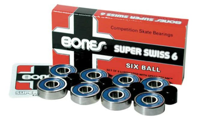 Bones Super Swiss 6 Competition Skate 8mm Bearings