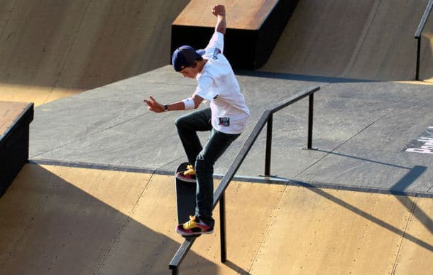 Learn to perform tricks from other skaters