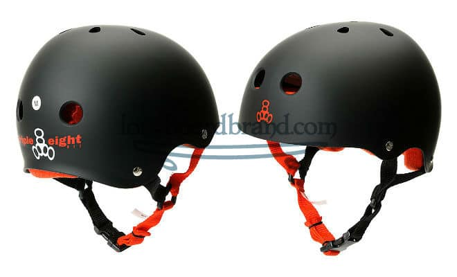 Triple eight skateboard helmet