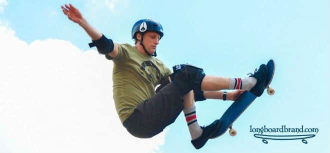 The benefit of wearing a skateboard helmet