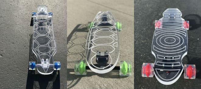 48-inch Ghost longboard for a longboarding surfer
