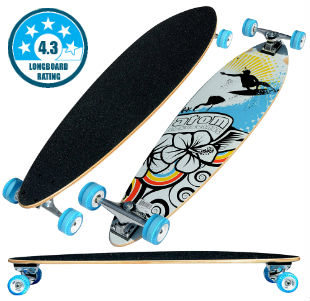 Best Long board for Girls - Atom Pintail Longboard