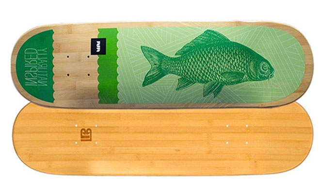 Everything You Need To Know About Bamboo Skateboards