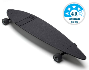 GoldCoast Skateboard with Pintail - Best Commuting Longboards