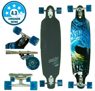 Sector 9 Aperture Sidewinder - Best Drop Through Longboard