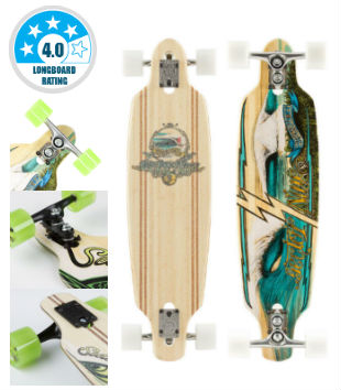 Sector 9 Bamboo Lookout Drop-Thru - Best Longboard For Cruising