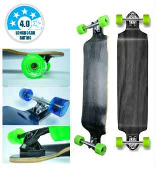Yocaher Professional Speed - Best Drop Down Longboard and Greatest for Big Guys