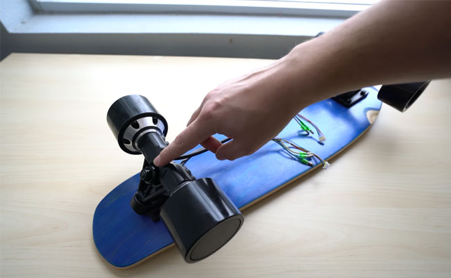 How to apply a DIY electric longboard?