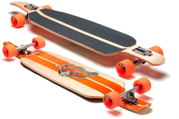 Cut Out Longboard