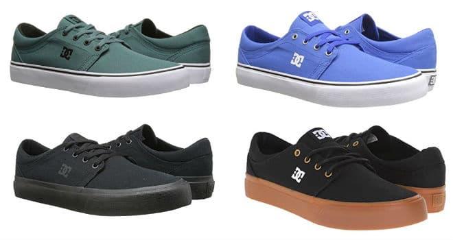 DC Men's Trace TX Unisex Skate Shoe