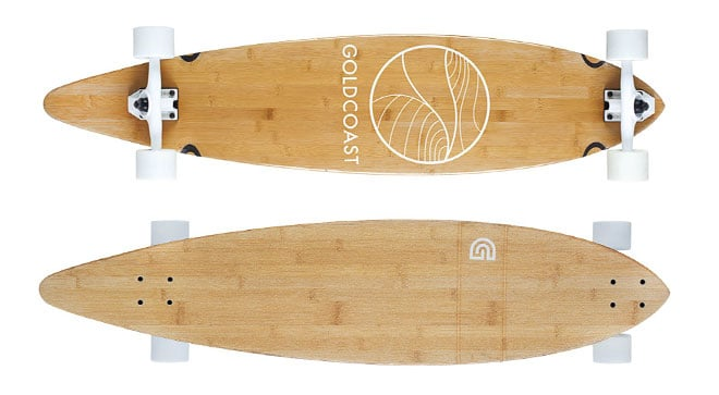 GoldCoast Longboard with Pintail
