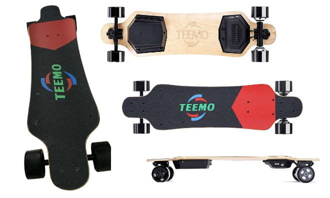 M-1 Teemo Longboard with Wireless Remote