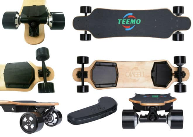 M-3 Teemo Electric Skateboard