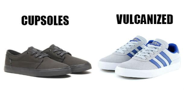 Main Types of Skate Shoes' Soles