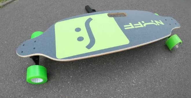 NUFF Electric Longboard