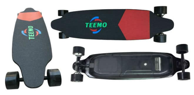 High Quality Cruise Range 25km Panthers Electric Skateboard
