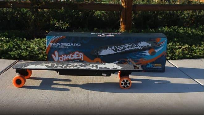 Swagtron SwagBoard Voyager Electric Longboard