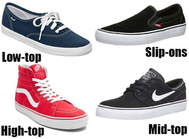 Types of Skate Shoes