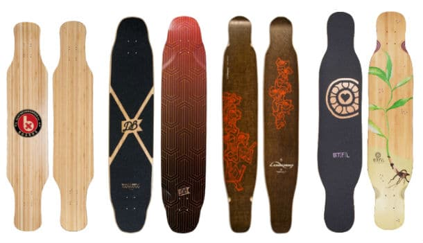 the longboard deck