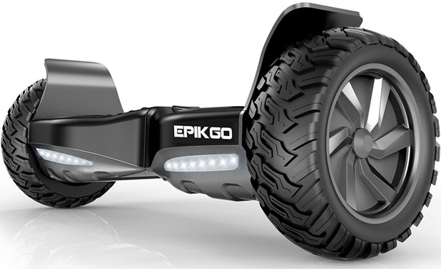 EPIKGO with Epikgo All-Terrain Scooter