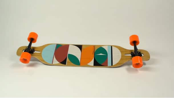 Loaded Dervish Longboard in detail