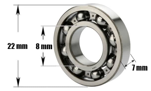 The Size Of Bearings