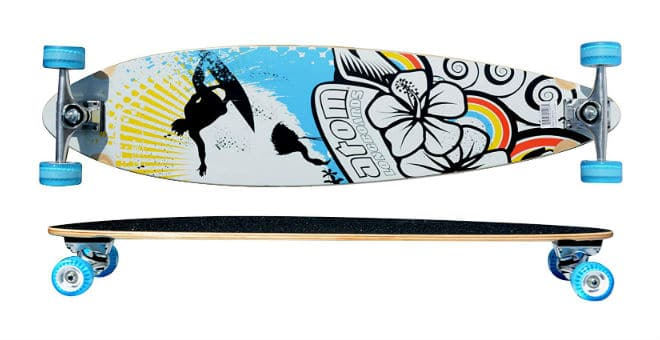 Atom Pin-Tail Longboard