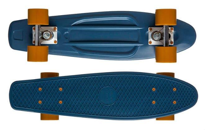 Ten Toes Quip Skateboard 22.5inch Classic Plastic Mini Cruiser