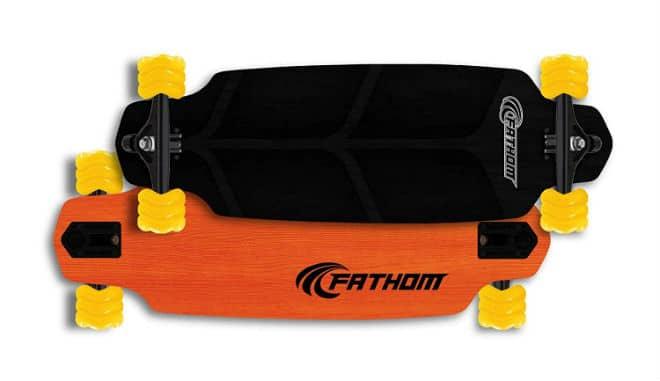 Shark Wheel Fathom Kraken Mini-Drop All-Terrain Longboard