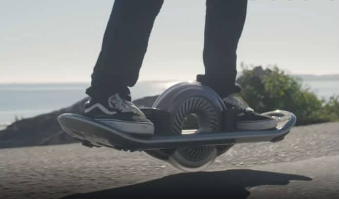 Hoverboard one wheel electric skateboard
