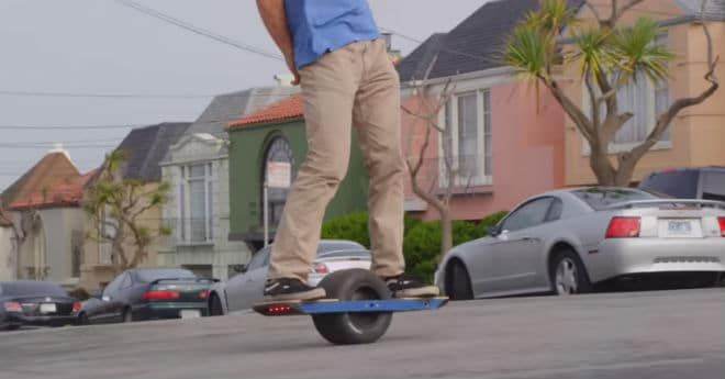 One wheel Off-Road Skateboard by Future Motion