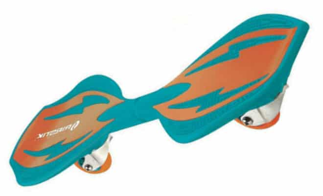 Razor Ripster Caster Board with PUNK RAIL