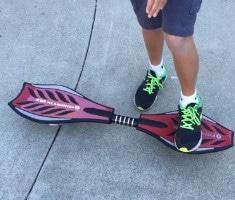 Ripstiks make the skateboard rings lively
