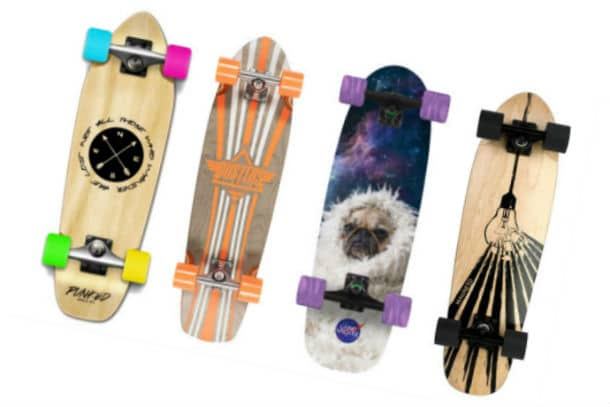 Short longboards