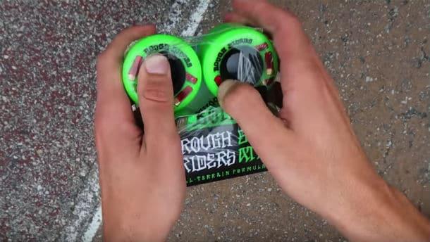 Wheels of the Skateboard