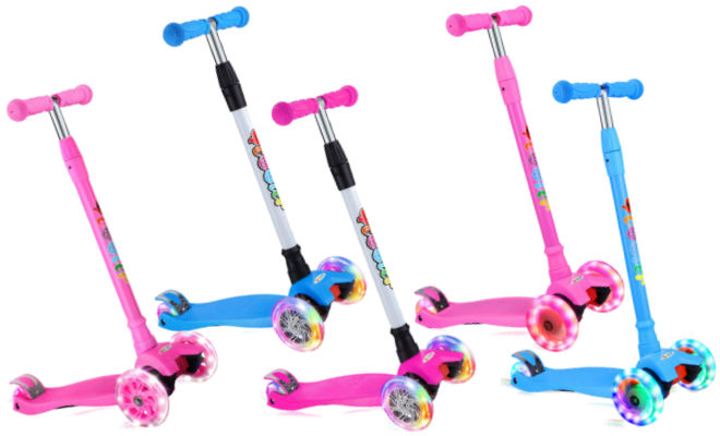 BELEEV Kick Scooter for Kids 3 Wheel Scooter for Toddlers