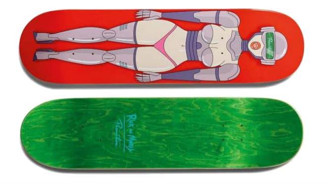 Rick and Morty Gwendolyn Skateboard Deck