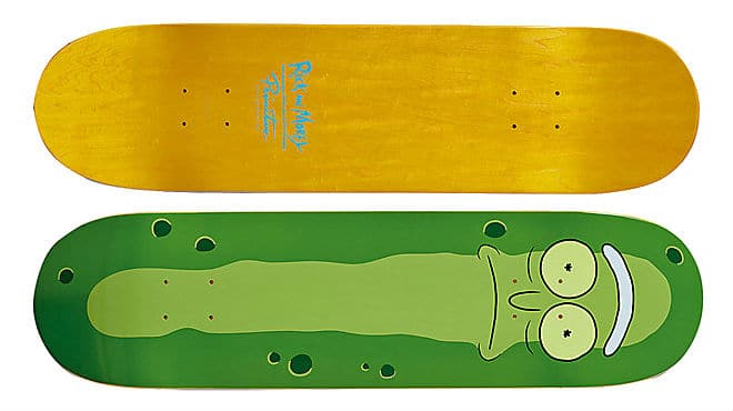 Rick and Morty Pickle Rick Skateboard Deck