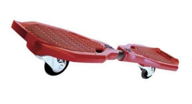 Street Surfing Wave Strike Casterboard Red