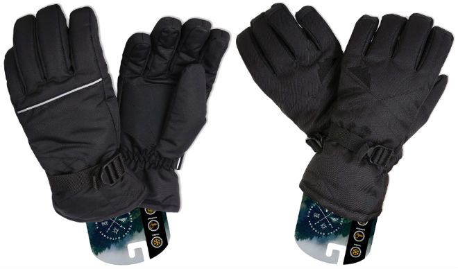 Tough Outdoors winter ski gloves