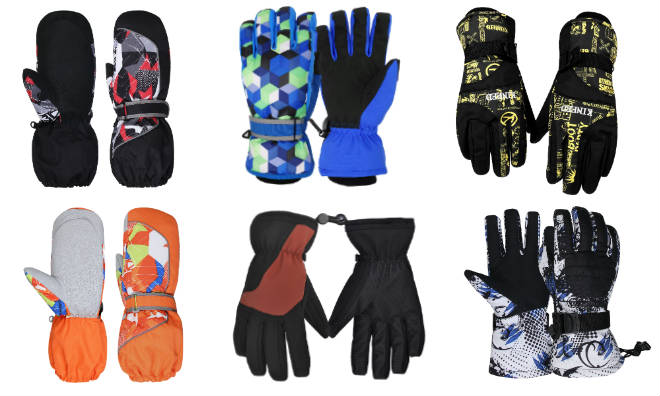 WATERFLY Ski Gloves