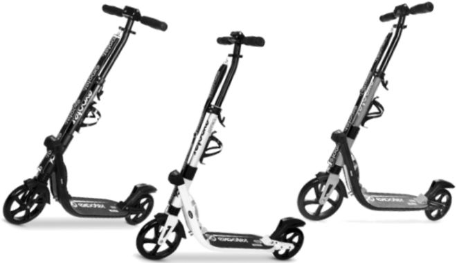 EXOOTER M2050 9XL Manual Adult Cruiser Kick Scooter