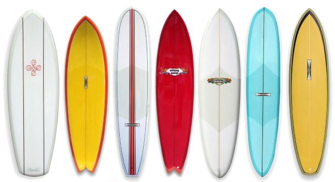 G S Surfboards Skateboards